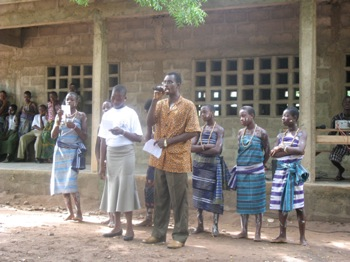 Concours de lecture au C.E.G Kpodzi
